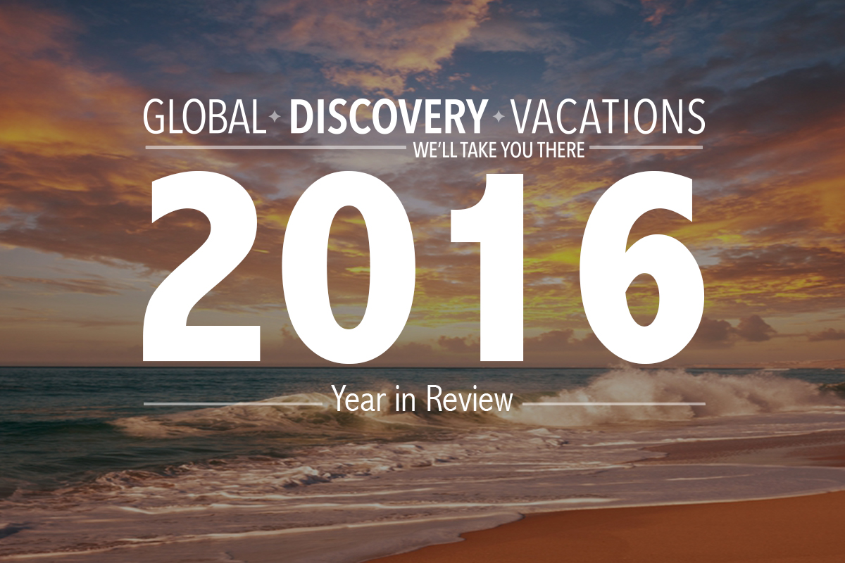 Global Discovery Vacations Year in Review 2016
