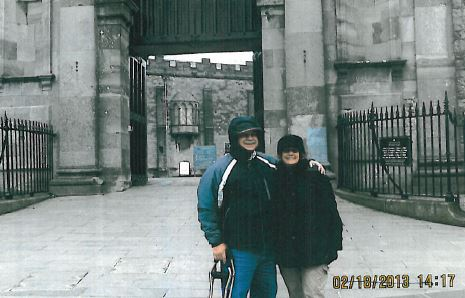 Bill and his wife at Bunratty Castle