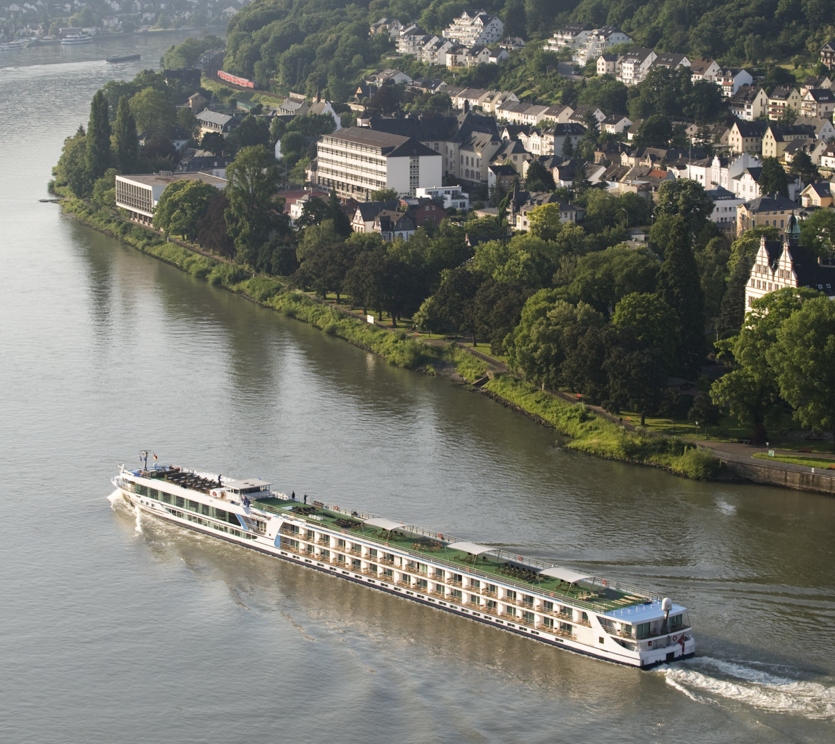Cruising along the Rhine, Germany