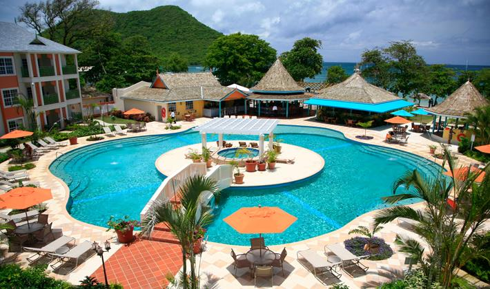 New resort coming 2015 the bay gardens in st lucia for Pool garden resort argao