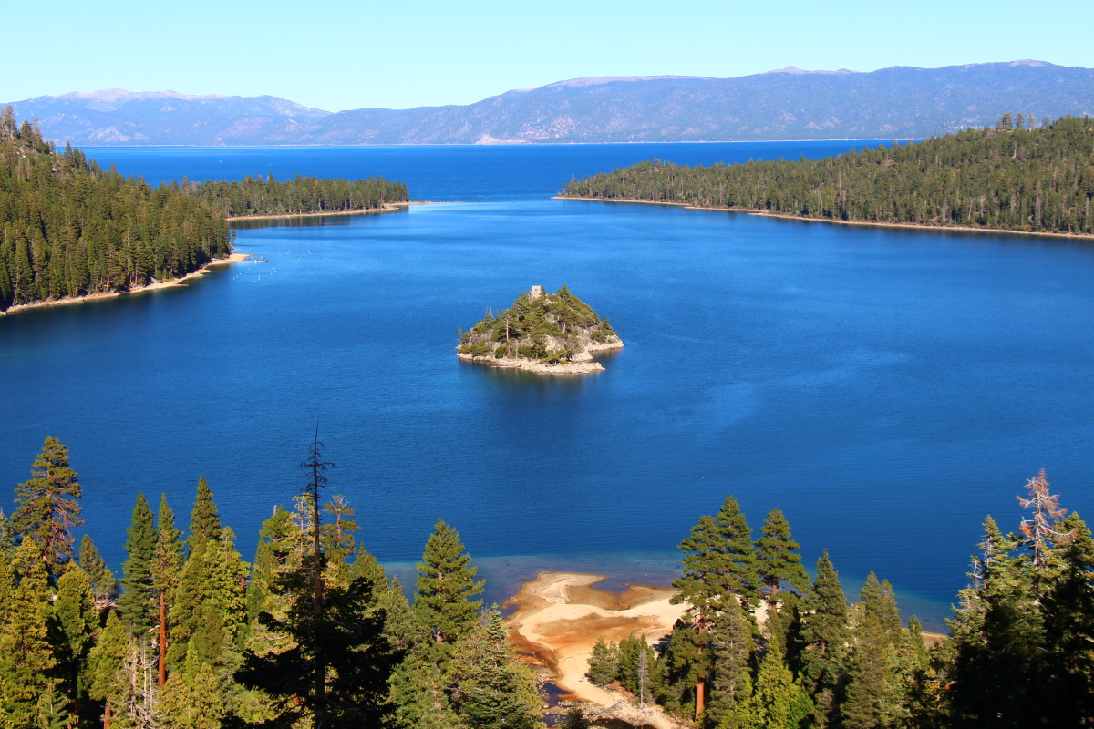 What more could you ask of Lake Tahoe? Photo courtesy of member John B.