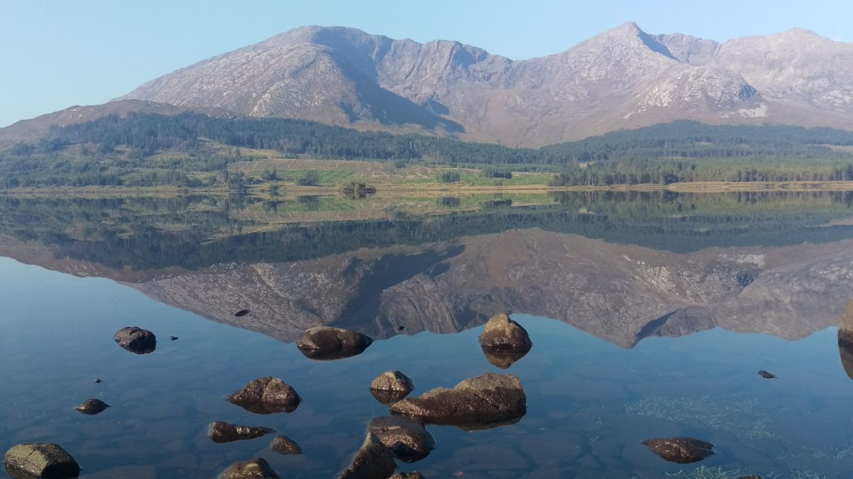 My son shot this photo on his honeymoon in Ireland stayed at Kiltannon Home Farm The place is called Lough Inagh